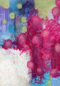 Hot Pink Roses by Sarah Ogren