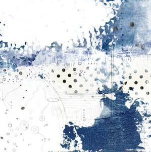 Navy Abstract III by Sarah Ogren