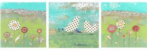 Polka Dot Bird Set by Sarah Ogren