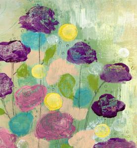 Purple Flowers by Sarah Ogren