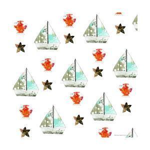 Sailboats Pattern by Sarah Ogren