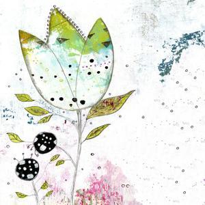 Single Lime Flower by Sarah Ogren