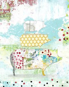 Totem Pig 2 by Sarah Ogren