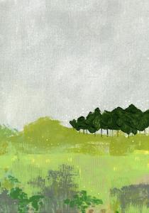 Trees II by Sarah Ogren