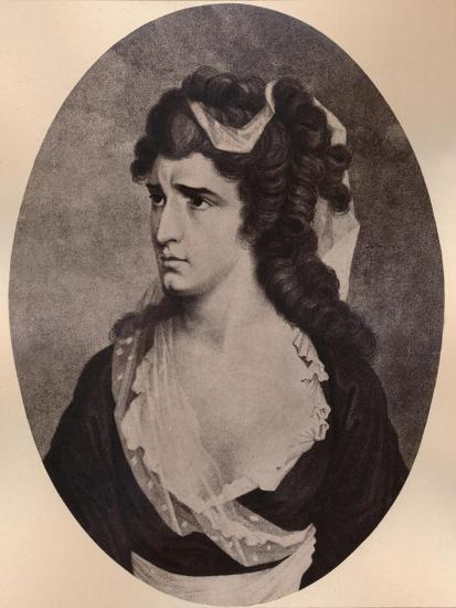 Sarah Siddons, Welsh actress, c late 18th or 19th century (1894)-Unknown-Giclee Print