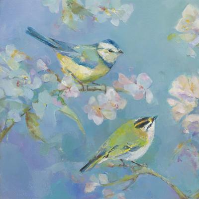 Birds in Blossom - Detail I by Sarah Simpson