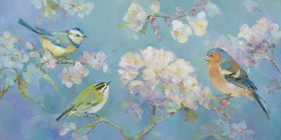 Birds in Blossom by Sarah Simpson