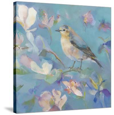 Birds in Magnolia - Detail II by Sarah Simpson
