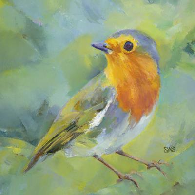 Garden Robin by Sarah Simpson