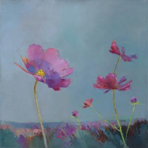 Poppies in Bloom I by Sarah Simpson