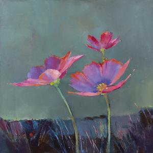 Poppies in Bloom II by Sarah Simpson