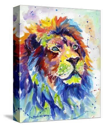 Colorful African Lion