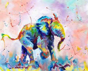 Colorful Elephant by Sarah Stribbling