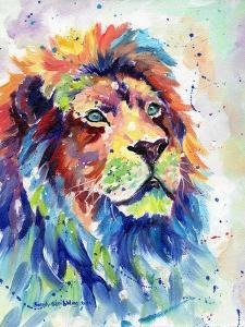 Multicolour Lion by Sarah Stribbling