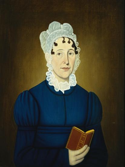 Sarah Treadwell Perley, 1825-John Brewster-Giclee Print