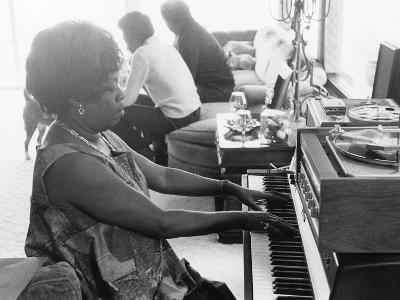 Sarah Vaughan at Piano-Ted Williams-Photographic Print