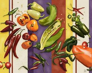 Sarape Peppers I