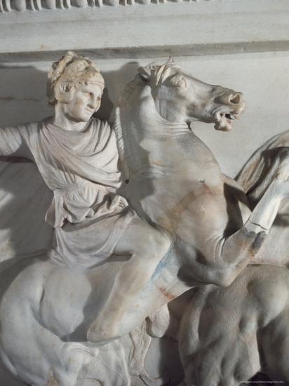 Sarcophagus of Alexander the Great, Istanbul, Turkey-Richard Ashworth-Photographic Print