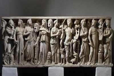 Sarcophagus of Julius Longinus--Giclee Print