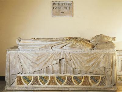 Sarcophagus of Pope Boniface VIII, 1296-Ca 1300--Giclee Print