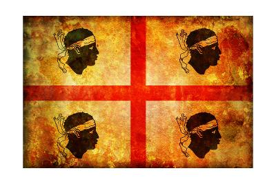Sardinia Flag-michal812-Art Print