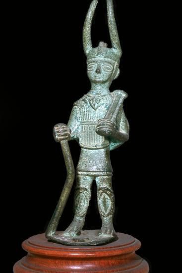 Sardinian bronze warrior-Unknown-Giclee Print