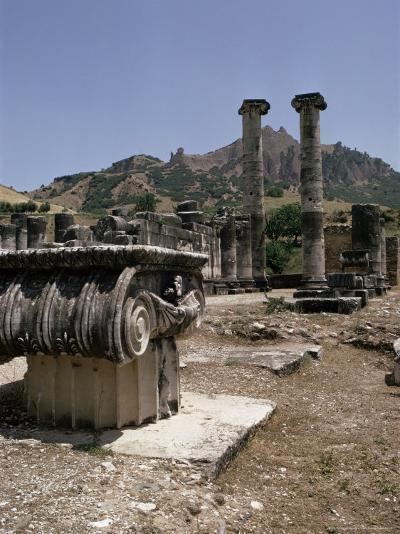 Sardis, Anatolia, Turkey, Eurasia-Christina Gascoigne-Photographic Print