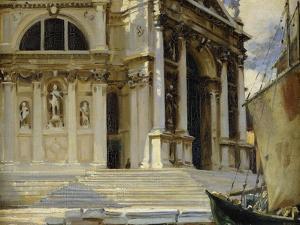 Santa Maria della Salute, Venice by Sargent John Singer