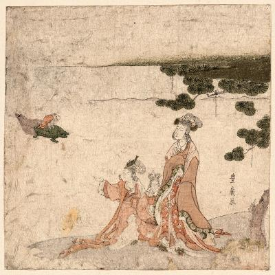 Saru No Ikigimo-Utagawa Toyohiro-Giclee Print