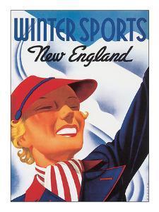 Winter Sports, New England by Sascha Maurer