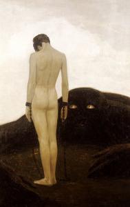 A Feeling of Dependence by Sascha Schneider