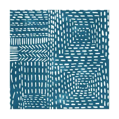 Sashiko Stitches I-Chariklia Zarris-Premium Giclee Print