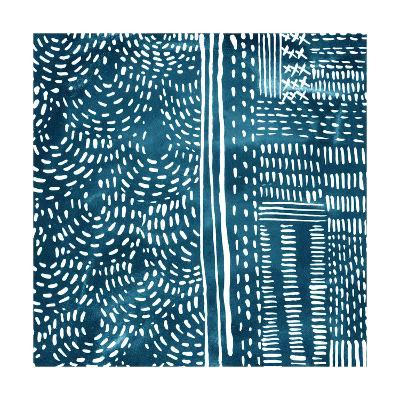 Sashiko Stitches II-Chariklia Zarris-Premium Giclee Print