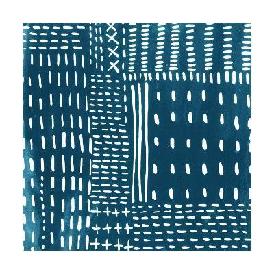 Sashiko Stitches III-Chariklia Zarris-Premium Giclee Print