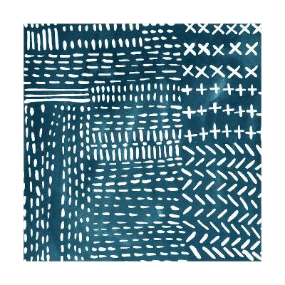 Sashiko Stitches IV-Chariklia Zarris-Premium Giclee Print