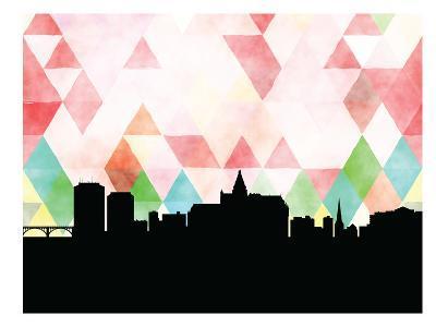 Saskatoon Triangle--Art Print