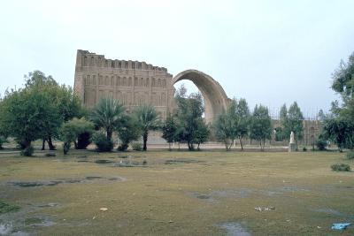 Sassanian Arch, Ctesiphon, Iraq, 1977-Vivienne Sharp-Photographic Print
