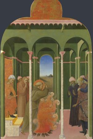 Saint Francis before the Sultan, 1437-1444 by Sassetta