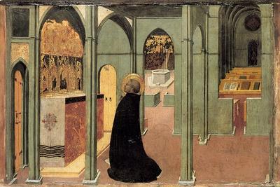 Saint Thomas Aquinas in Prayer, Ca 1428-1432