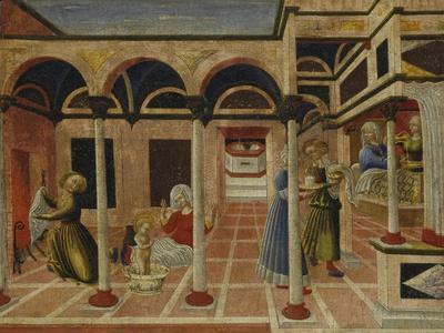 The Birth of St. Nicholas