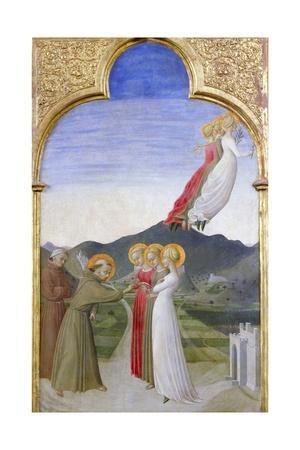 The Mystic Marriage of St. Francis of Assisi