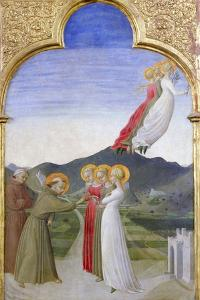 The Mystic Marriage of St. Francis of Assisi by Sassetta