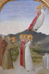 The Mystical Marriage of St. Francis of Assisi, 1444 by Sassetta