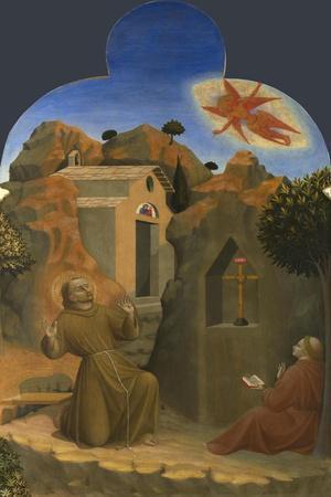 The Stigmatisation of Saint Francis (From Borgo Del Santo Sepolcro Altarpiec), 1437-1444