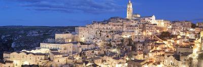 Sasso Barisano and Cathedral, UNESCO World Heritage Site, Matera, Basilicata, Puglia, Italy, Europe-Markus Lange-Photographic Print