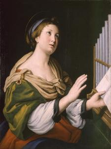 Saint Cecilia, Between 1640 and 1650 by Sassoferrato