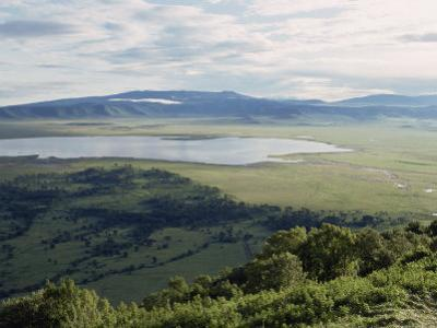 Ngorongoro Crater, UNESCO World Heritage Site, Tanzania, East Africa, Africa by Sassoon Sybil
