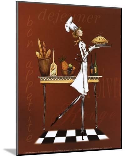Sassy Chef I-Mara Kinsley-Mounted Print