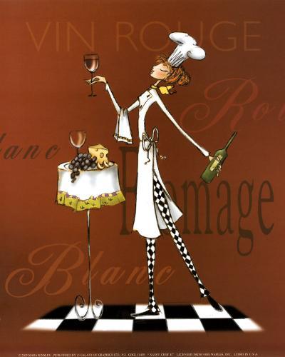 Sassy Chef II-Mara Kinsley-Art Print