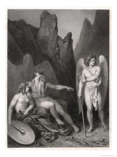 Satan at the Court of Chaos-Allais-Giclee Print